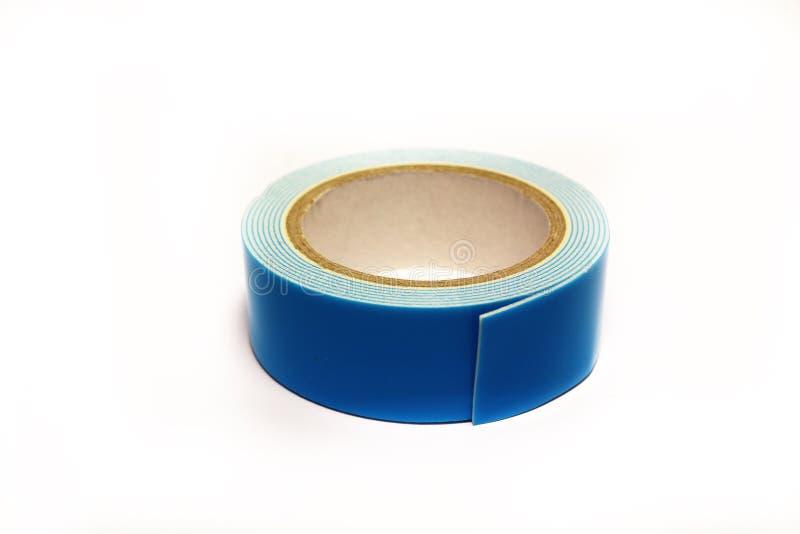 Blått tejpar arkivfoton