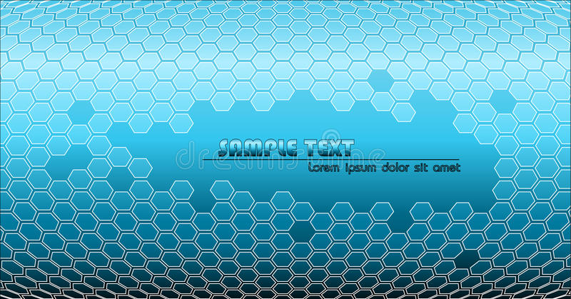blått tekniskt för abstrakt bakgrund vektor illustrationer