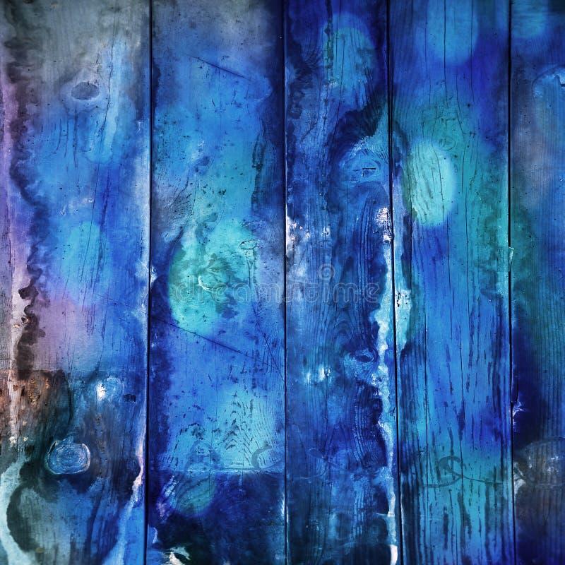 blått trä vektor illustrationer