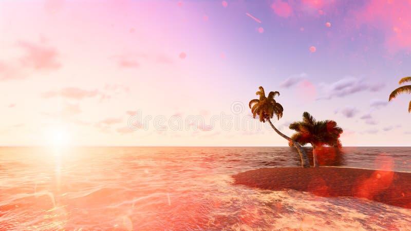 Blått tropiskt hav raster 4 royaltyfria foton