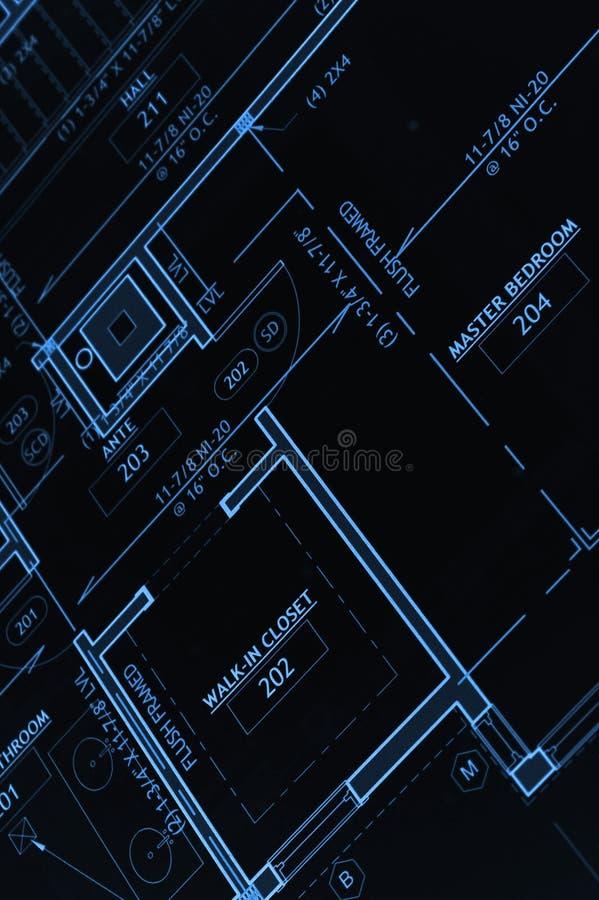 blått tryck arkivfoto