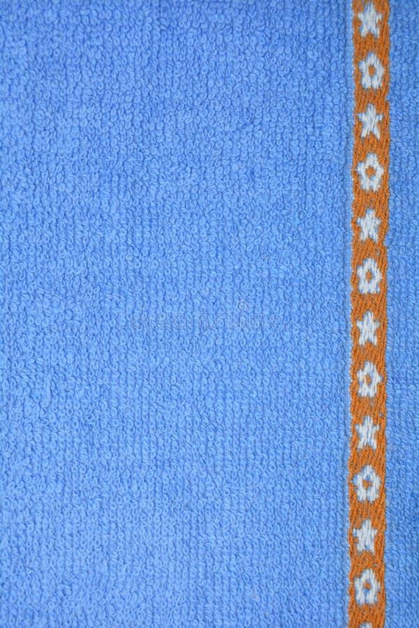 blått tyg royaltyfri foto