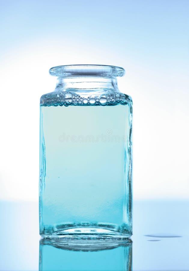 blått vatten royaltyfri fotografi