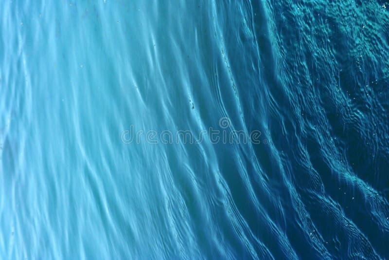 blått vatten för bakgrund royaltyfri fotografi