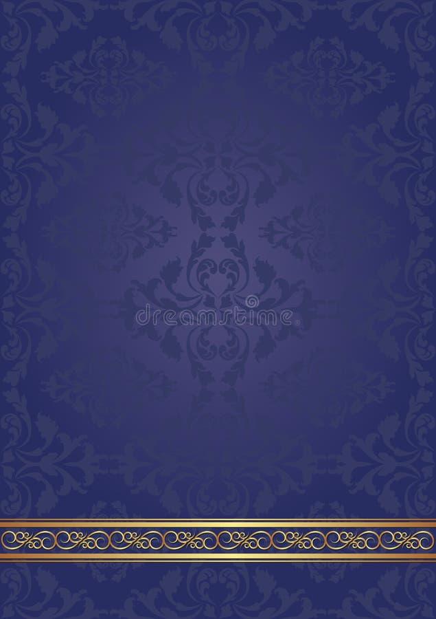 Blåttbakgrund Arkivbild
