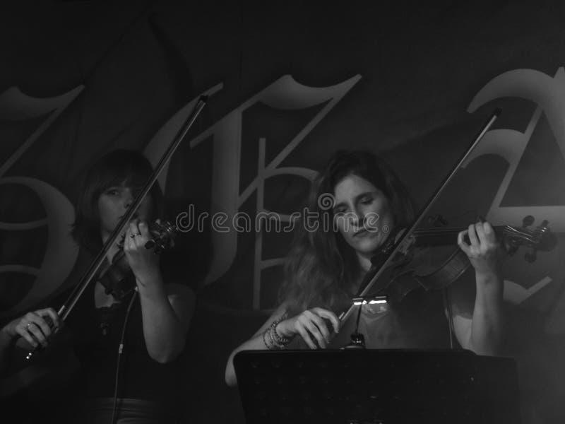 Blème chez Dagda Live Club picovolte 31-10-2018 image stock