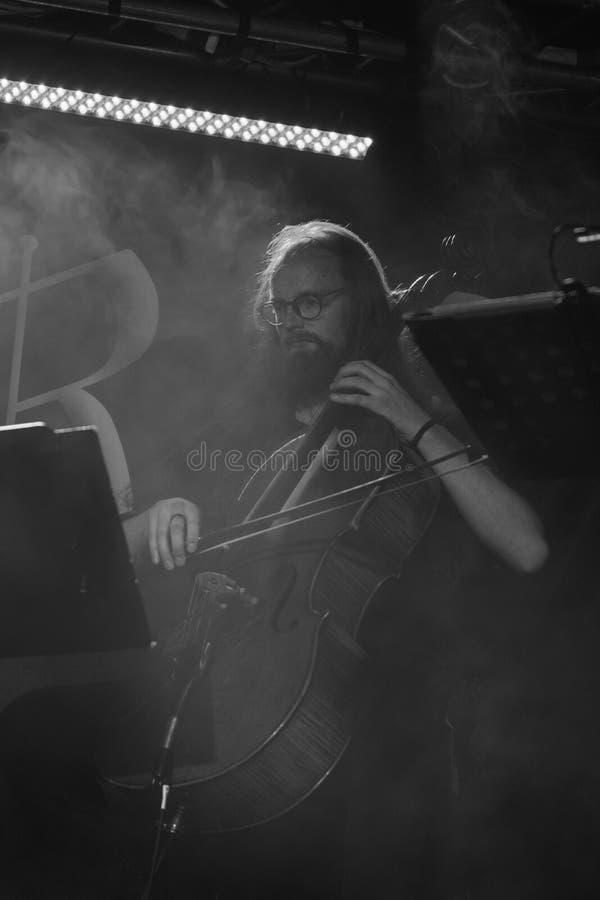 Blème chez Dagda Live Club picovolte 31-10-2018 images stock