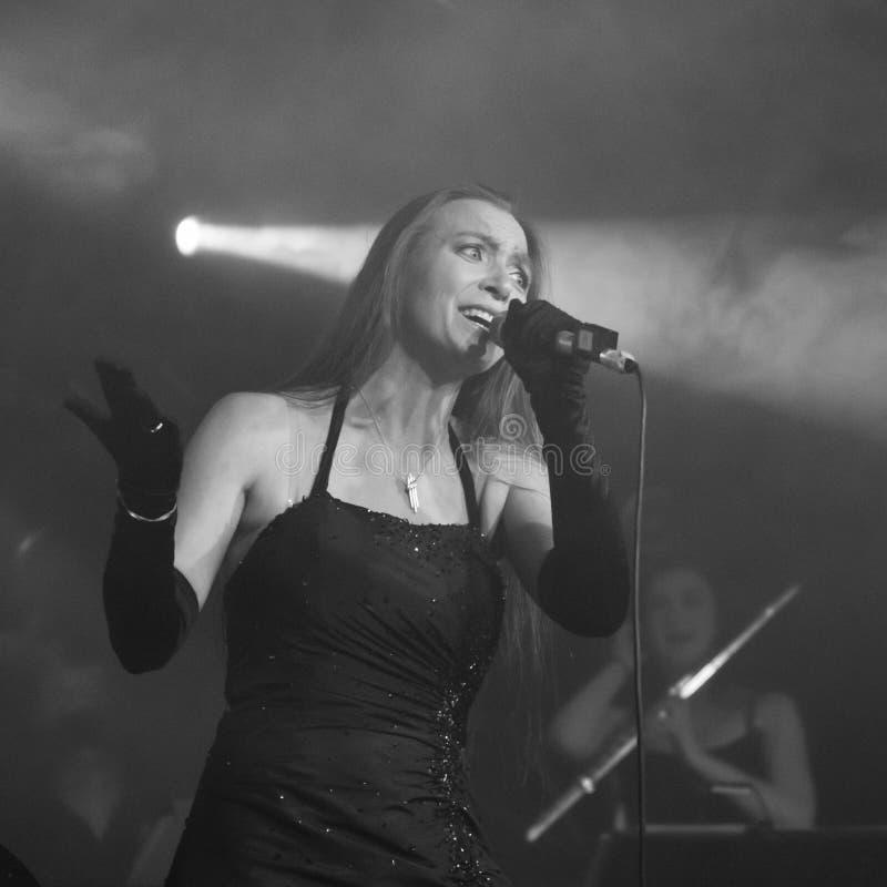 Blème chez Dagda Live Club picovolte 31-10-2018 photos stock