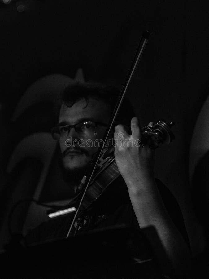Blème chez Dagda Live Club picovolte 31-10-2018 image libre de droits