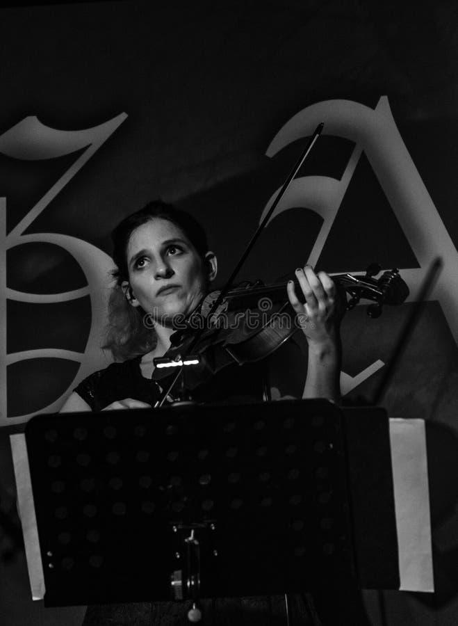 Blème chez Dagda Live Club picovolte 31-10-2018 photographie stock