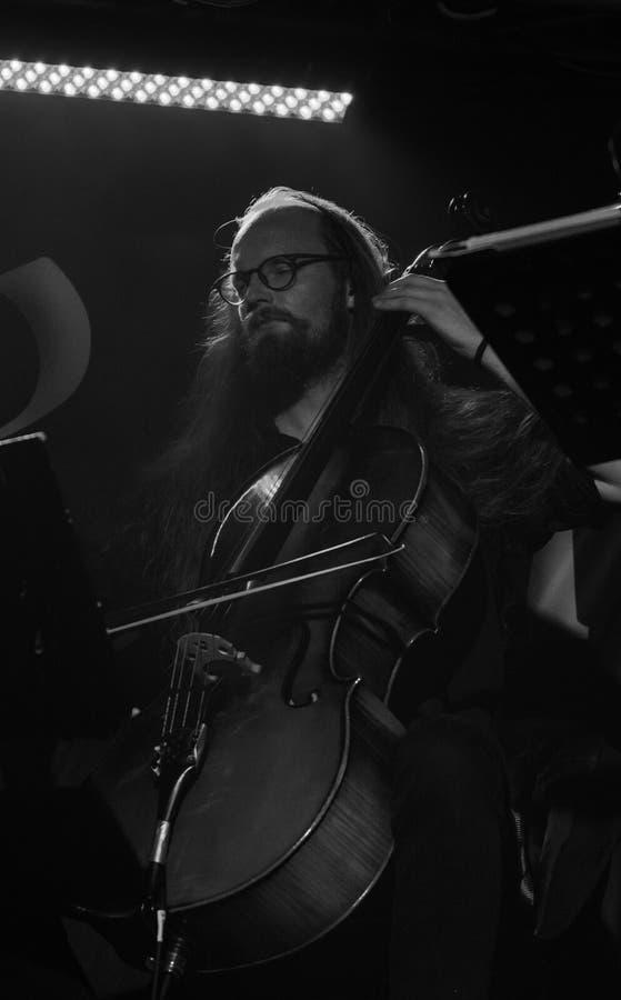 Blème chez Dagda Live Club picovolte 31-10-2018 photos libres de droits