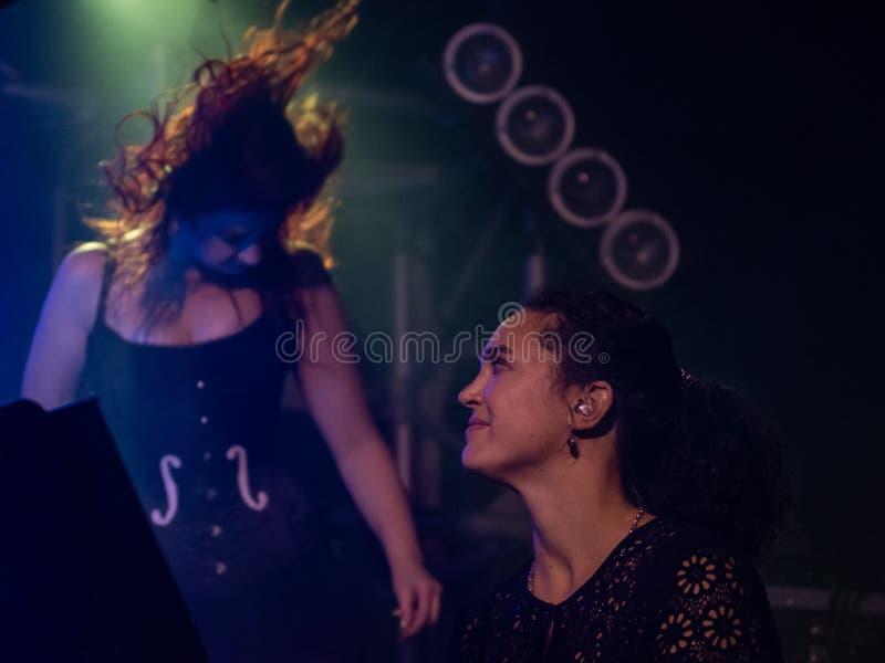 Blème chez Dagda Live Club picovolte 31-10-2018 photographie stock libre de droits