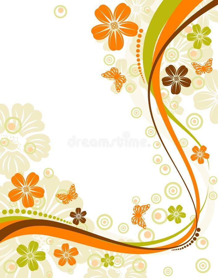 Blühen Sie Hintergrund stock abbildung