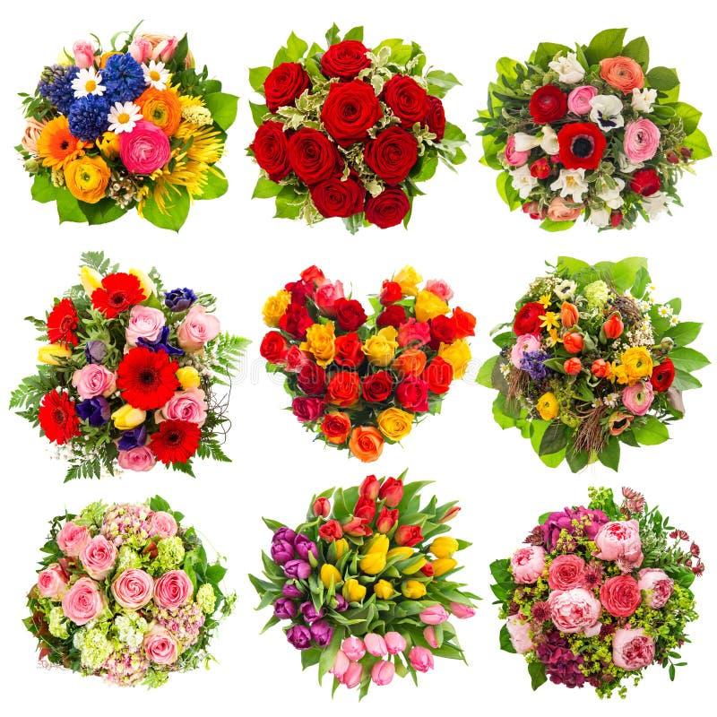 Blüht Blumenstrauß Feiertage Geburtstag, Hochzeit, Valentinsgrüße lizenzfreies stockbild