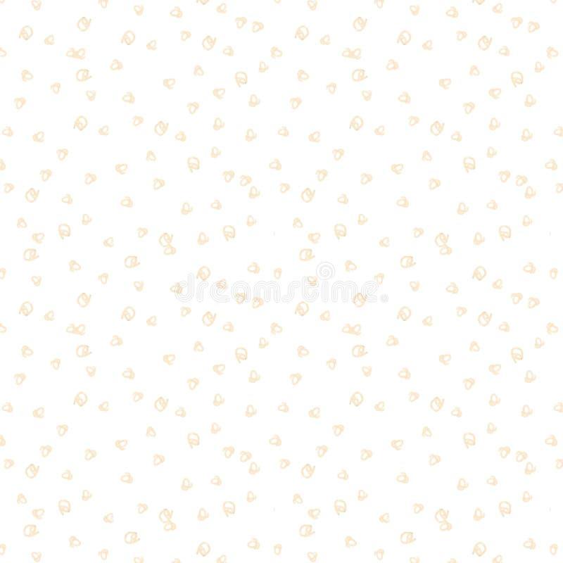 Blüht digitale Clipartzeichnung des abstrakten seamlless Musterkastens Säubernfeiergeburtstagsbeschaffenheitsmustergelb-Niederlas vektor abbildung