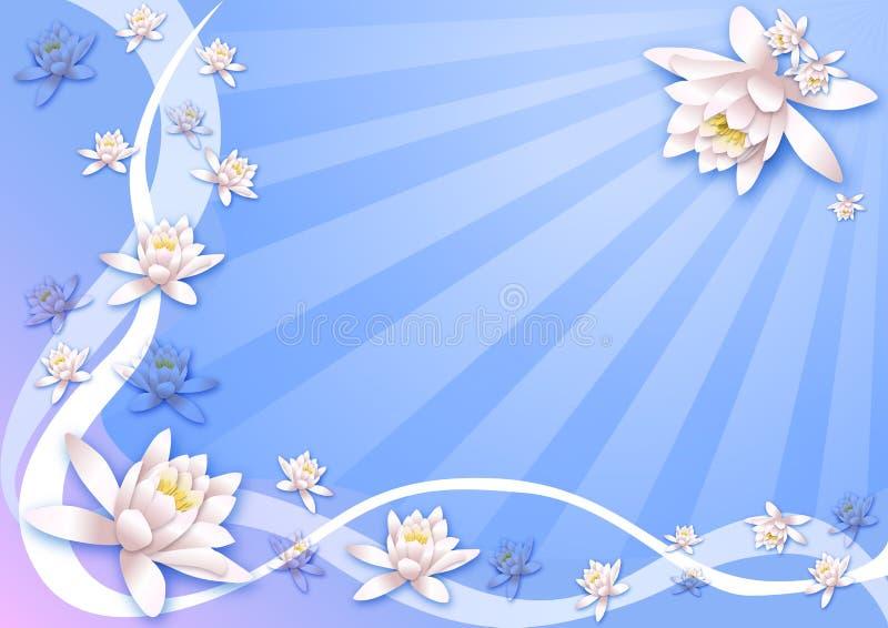 Blüht Hintergrund lizenzfreies stockfoto