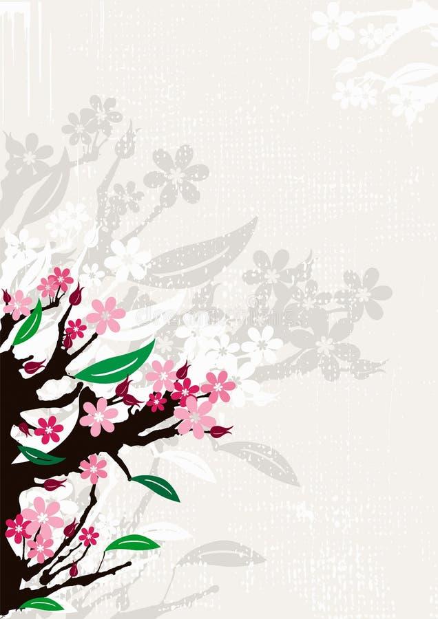 Blüht Hintergrund lizenzfreie abbildung