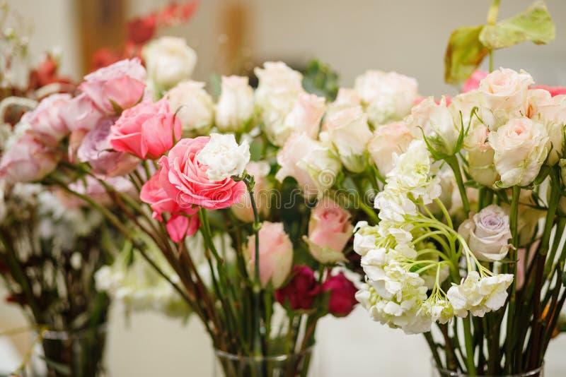 Blüht Zusammensetzung Abstrakter Hintergrund der Blumen lizenzfreie stockfotos