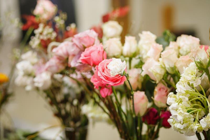 Blüht Zusammensetzung Abstrakter Hintergrund der Blumen lizenzfreie stockfotografie