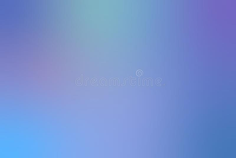 bl? blur f?r abstrakt bakgrund stock illustrationer