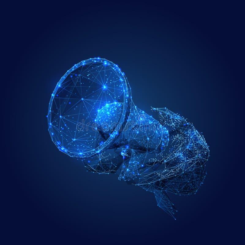 BL van het hersenenl. p. royalty-vrije illustratie