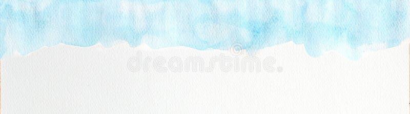 Bl? vattenf?rgbakgrund, f?r vattenf?rgborste f?r abstrakt hand utdragen illustration, grungestil att att planl?gga och dekorbakgr stock illustrationer