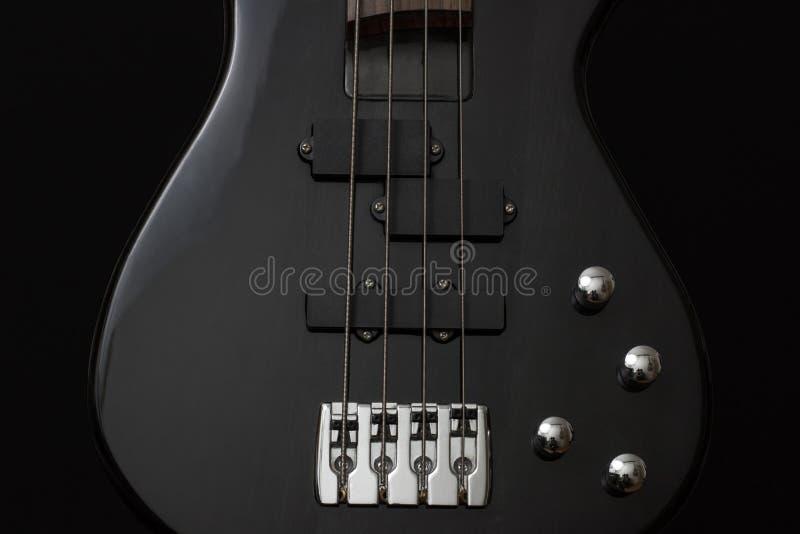 Black 4 Stringed Guitar Free Public Domain Cc0 Image