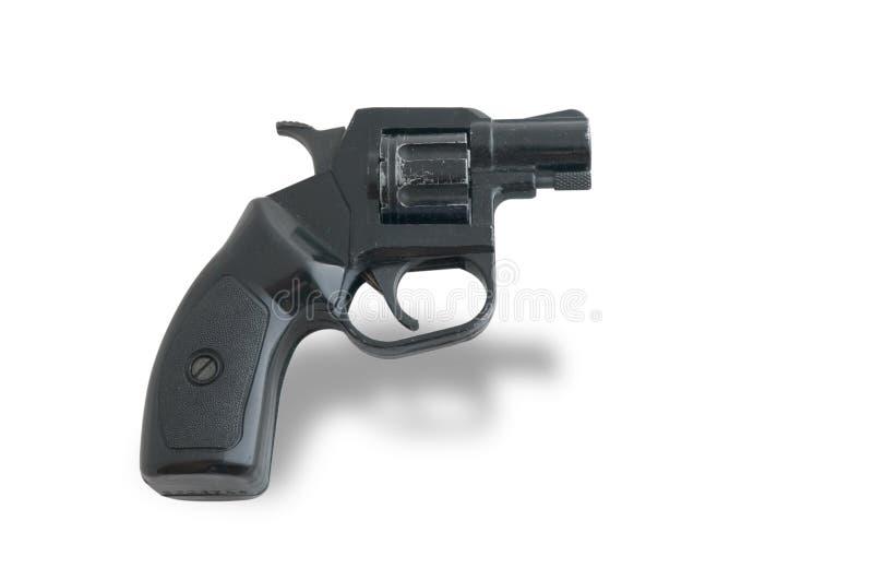 Black 9mm gun royalty free stock images