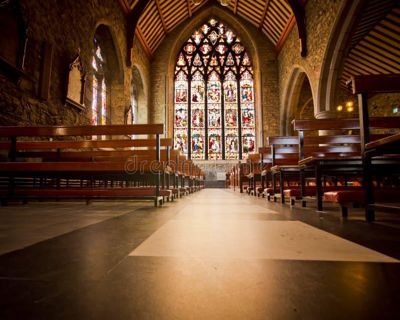 Black Abbey Ireland royalty free stock photo
