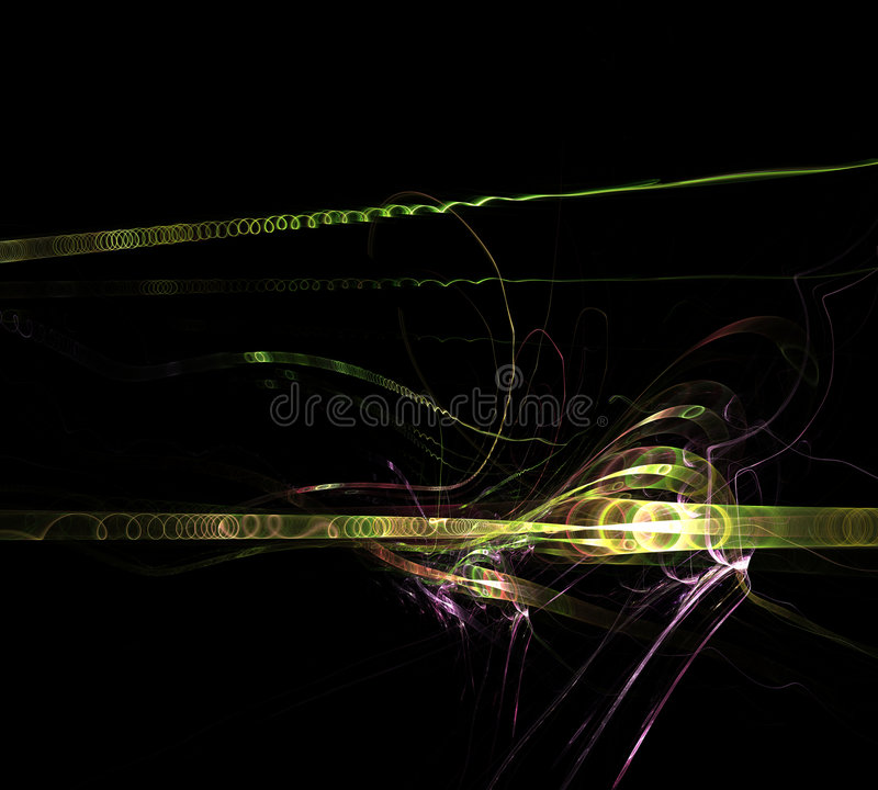 Black Abstract Backbround stock illustration