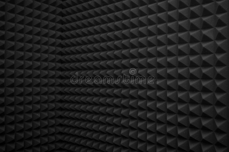 Black abstract background. Or soundproof wall texture royalty free stock photography