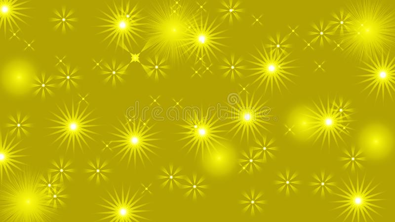 Black abstract light background with glittery colored shiny bokeh stars. Sparkling glittered particles on colored background for placard, banner and greeting royalty free illustration