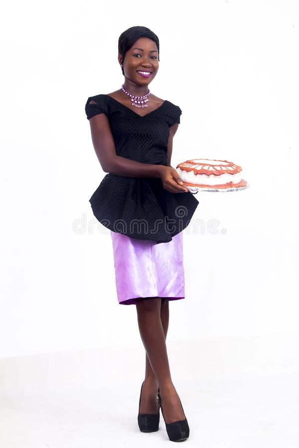 A black African American lady stock photography