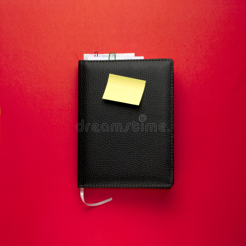 Download Black Agenda stock image. Image of accounts, control - 18970075