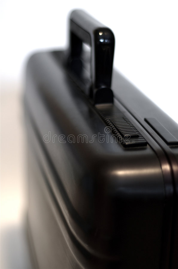 Free Black Aluminum Briefcase Royalty Free Stock Image - 563876