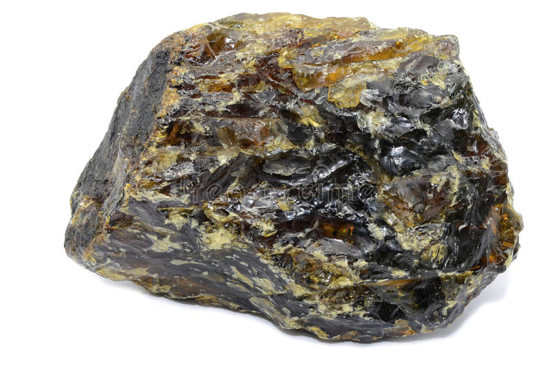 Black Amber royalty free stock image