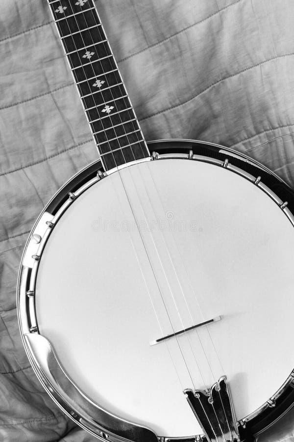 Free Black And White Banjo Stock Photography - 1155362