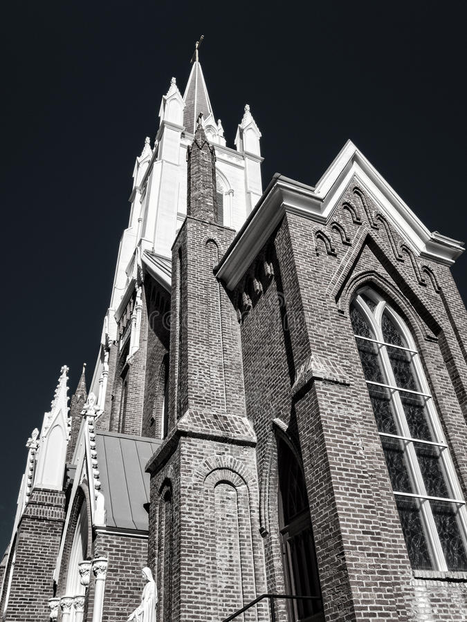Free Black And White Church Details Royalty Free Stock Images - 61329369