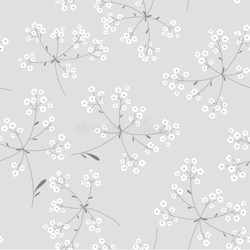 Free Black And White Floral Background Stock Images - 31304574