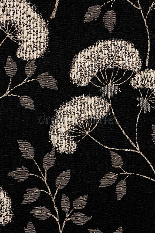 Free Black And White Floral Pattern Royalty Free Stock Photos - 2936588