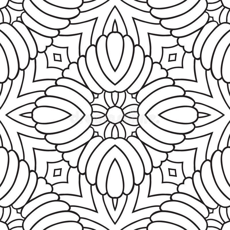 Free Black And White Oriental Pattern Royalty Free Stock Images - 36427959