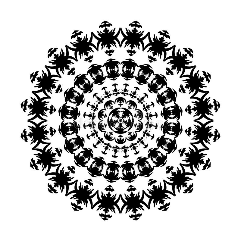 Free Black And White Ornament Royalty Free Stock Image - 21831956