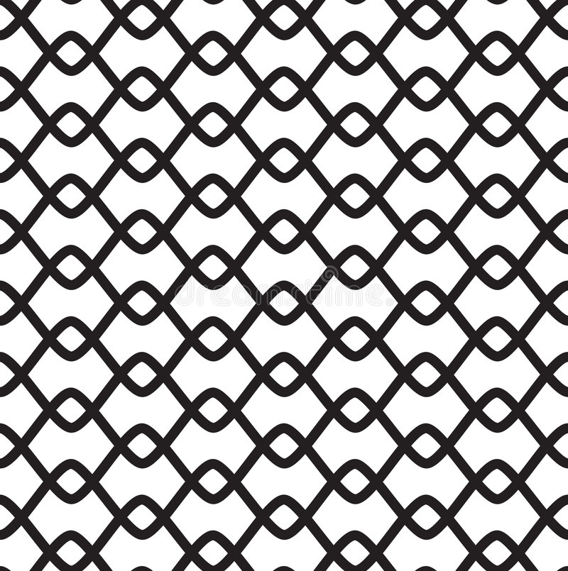 Free Black-and-white Seamless Pattern Royalty Free Stock Image - 8591106