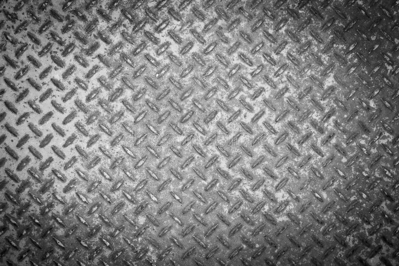Black ang white rusty steel plate background stock images