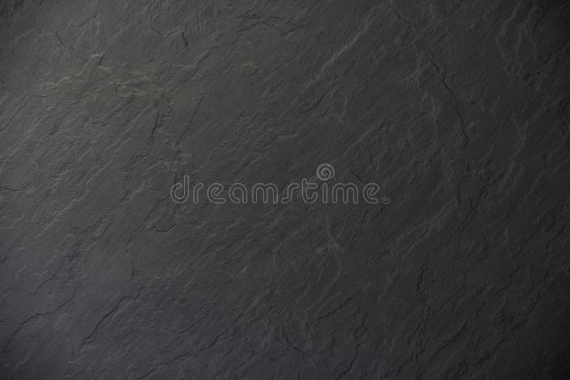 Black anthracite background with copy space for text stock image