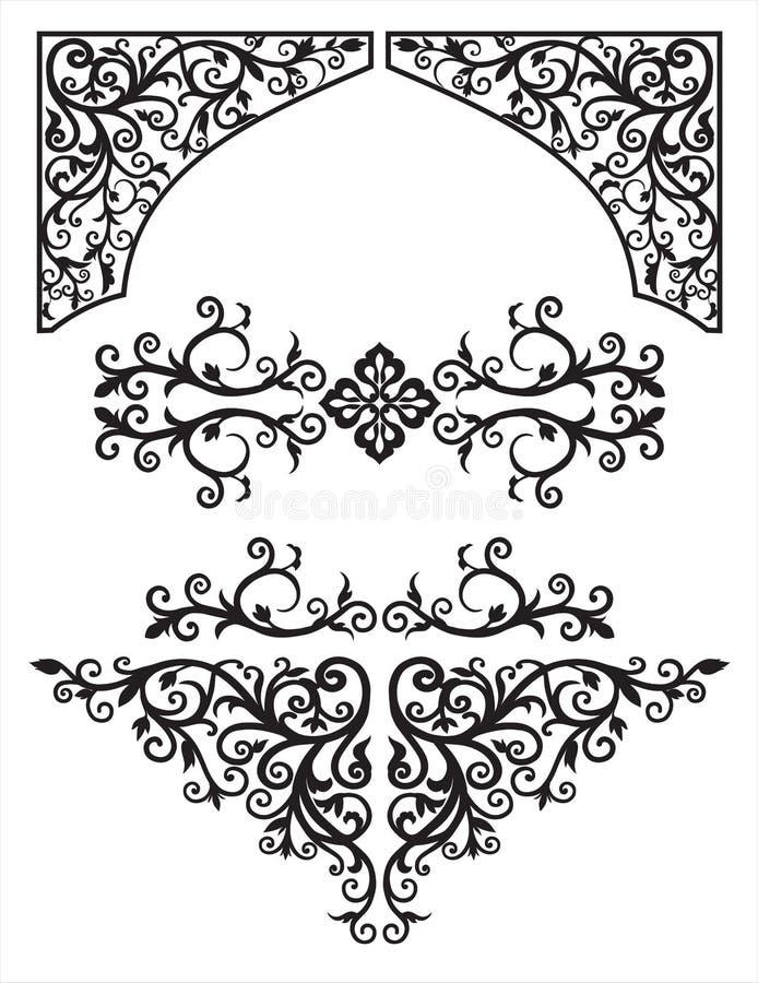 Black_arab02-04 royalty-vrije illustratie