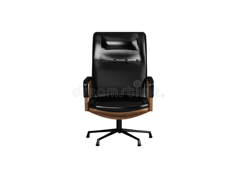 Download Black armchair stock illustration. Image of backgrounds - 14333359