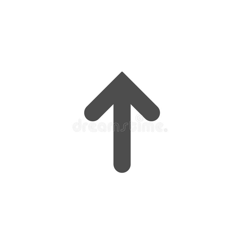 Black arrow up icon isolated on white upload icon upgrade sign download black arrow up icon isolated on white upload icon upgrade sign altavistaventures Gallery