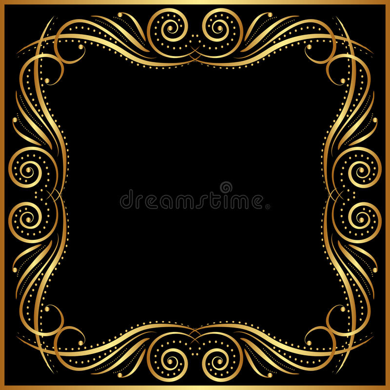 Download Black background stock vector. Image of blank, copyspace - 27286501