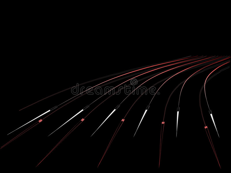 Black background with arrows. Vector. vector illustration